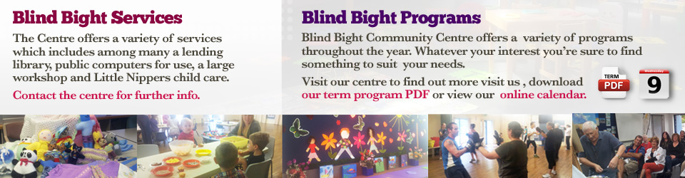 Blind Bight Community Centre Programs and Services