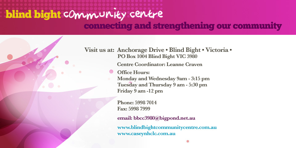 Blind Bight Community Centre Contact Details